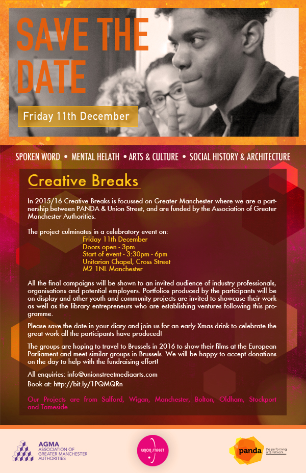 Save the date- creative breaks
