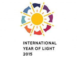 Official logo of the International Year of Light 2015.