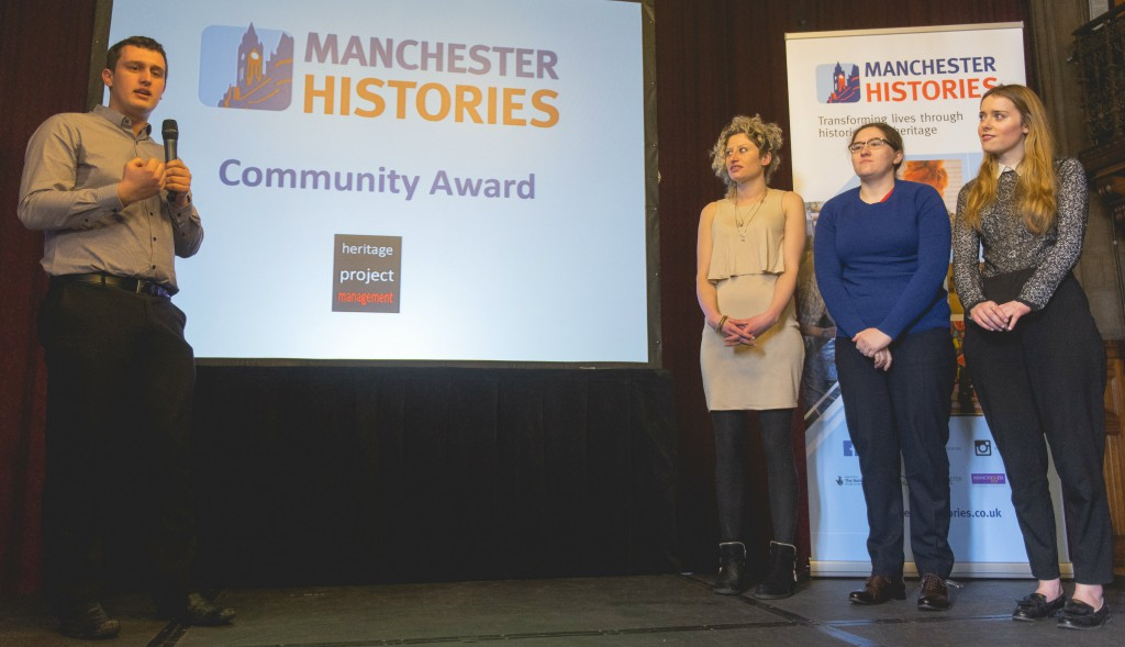 MAnchester history event award 2
